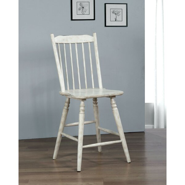 Pigott Solid Wood Dining Chair (Set of 2) by August Grove