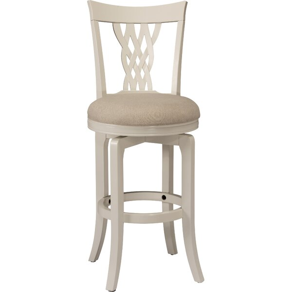 Carcassonne 30 Swivel Bar Stool by August Grove