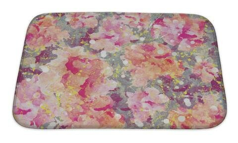 Art Primo Abstract Watercolor Flower Premium Shower Curtain by Gear New