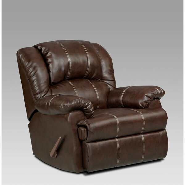 DeMontfort Manual Rocker Recliner by Darby Home Co