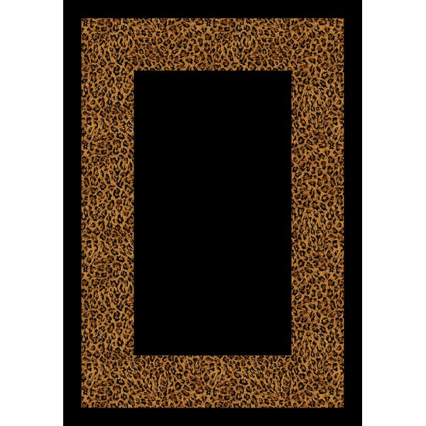 Design Center Golden Leopard Wasabu Area Rug by Milliken