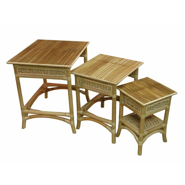 Nesting Table by Spice Islands Wicker