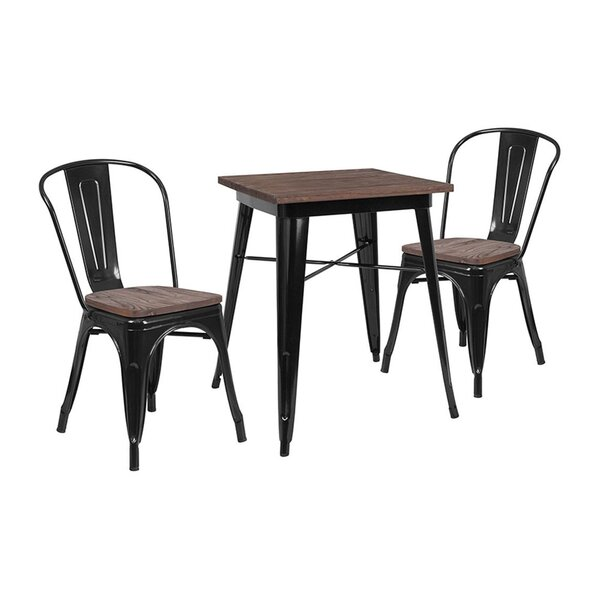 Mulga 3 Piece Dining Set by Williston Forge
