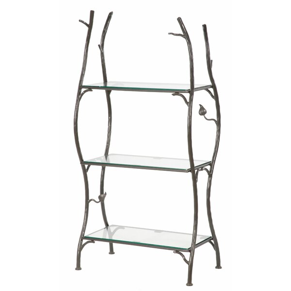 Traylor 3 -Tier Etagere Bookcase by Millwood Pines
