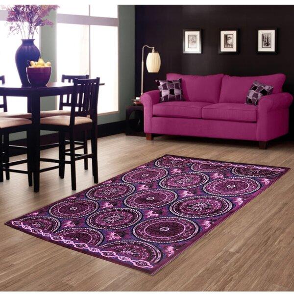 Lilac Area Rug by Brady Home