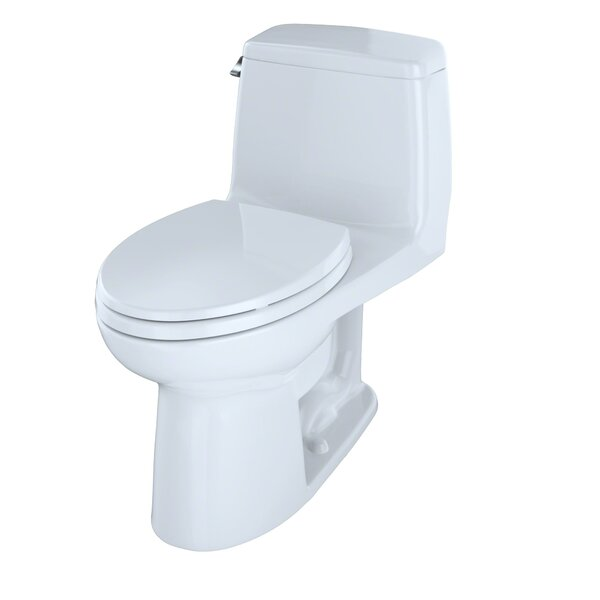 UltraMax 1.28 GPF (Water Efficient) Elongated One-Piece Toilet (Seat Included) by Toto