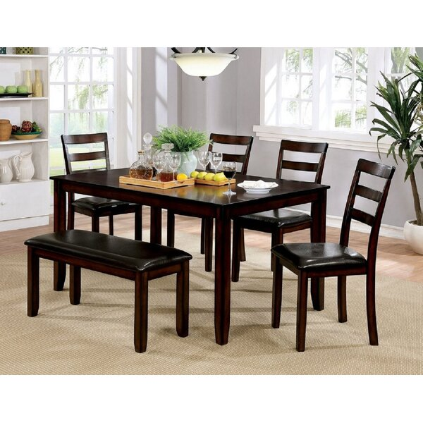 Carillo 6 Piece Dining Set by Red Barrel Studio Red Barrel Studio