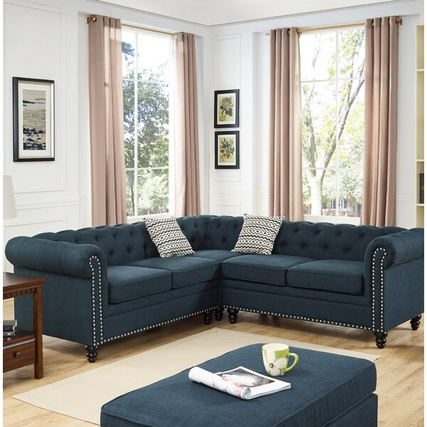 Ashley Sectional by Alcott Hill