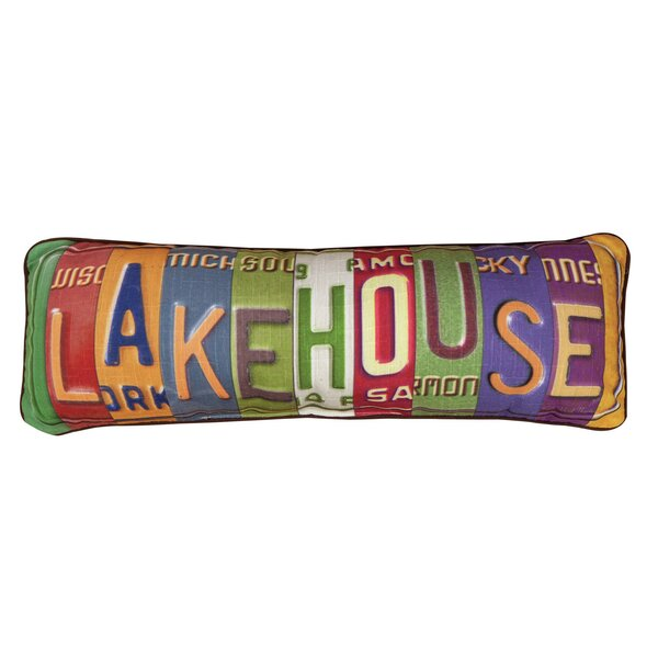 Lake House Lumbar Pillow by Manual Woodworkers & Weavers