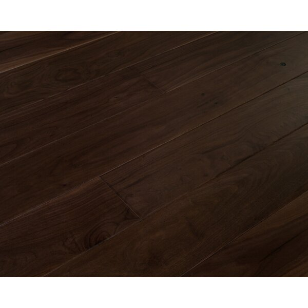 Alpine Trail 7 Inch Engineered Walnut Wide Plank Flooring in Bighorn Brown by Eddie Bauer Floors