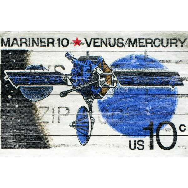 Mariner 10 Graphic Art on Wood by Marmont Hill