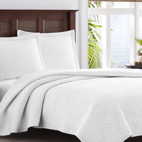 Chevron Quilt Set Tommy Bahama Bedding by Tommy Bahama Home