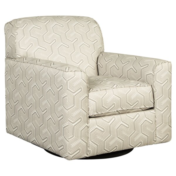 Audie Swivel Armchair by Ivy Bronx