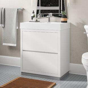 Reviews Tenafly 30 Single Bathroom Vanity Set ByWade Logan