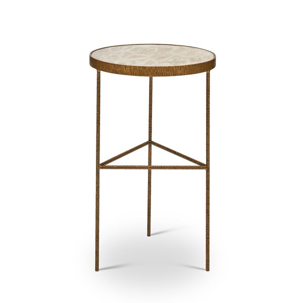 Crisp End Table by Bungalow Rose