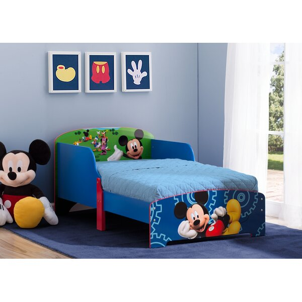 Disney Mickey Wood Toddler Platform Bed by Delta Children