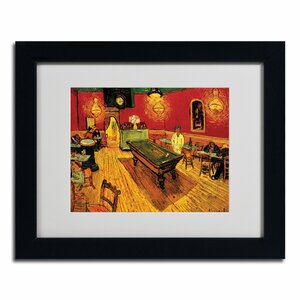 Night Cafe Canvas Art by Vincent van Gogh by Trademark Fine Art