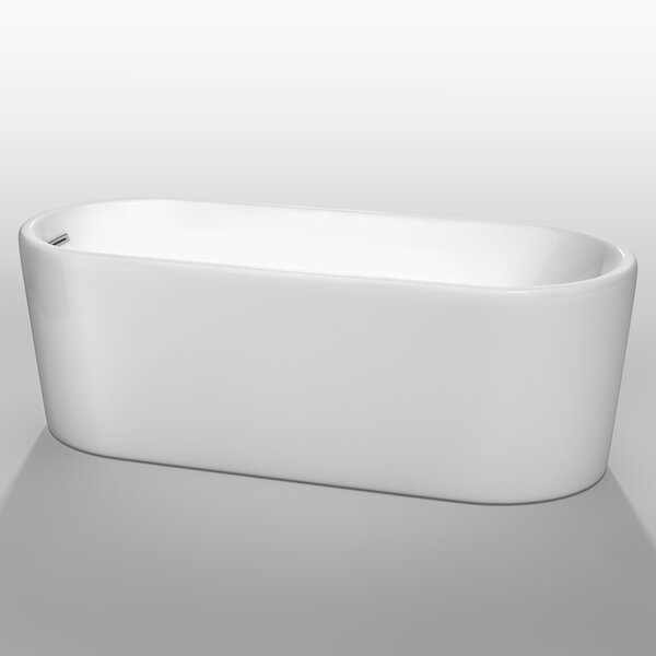 Ursula 67 x 27.5 Soaking Bathtub by Wyndham Collection