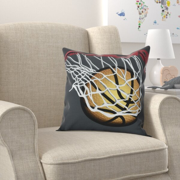 Bauer All Net Throw Pillow by Zoomie Kids