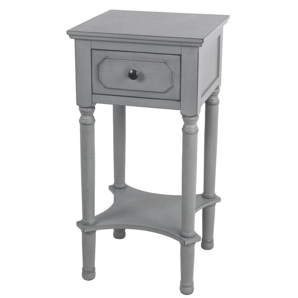 Mckinney End Table With Storage By Gracie Oaks