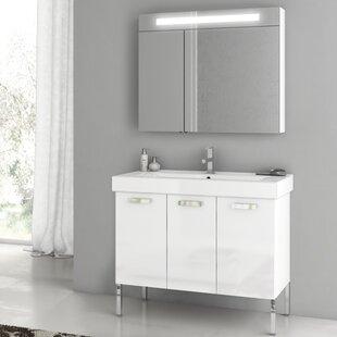 Cubical 41 Single Bathroom Vanity Set by ACF Bathroom Vanities