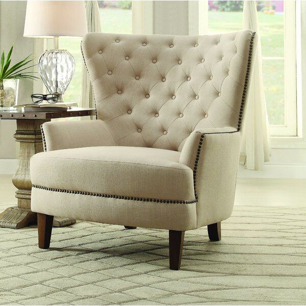 Jami Wingback Chair by Darby Home Co