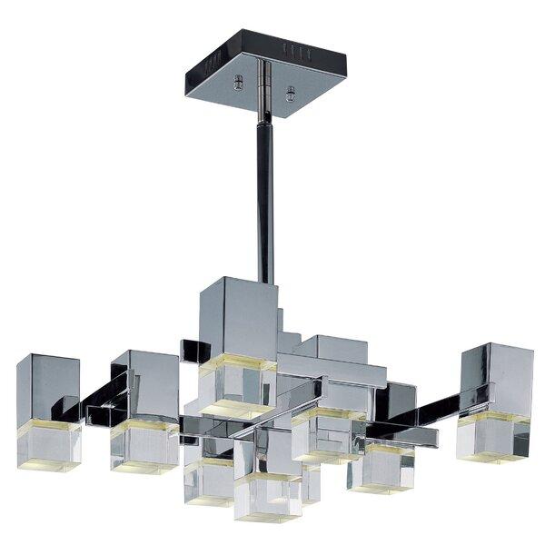 Orpheus LED 9-Light Pendant by Orren Ellis