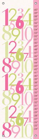 Modern Numbers Growth Chart by Oopsy Daisy