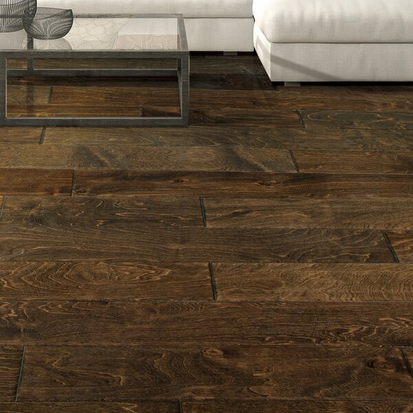 Munich 5 Engineered Birch Hardwood Flooring in Brown by Branton Flooring Collection