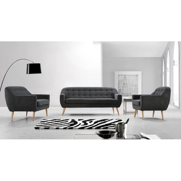 Issac 3 Piece Living Room Set by Corrigan Studio