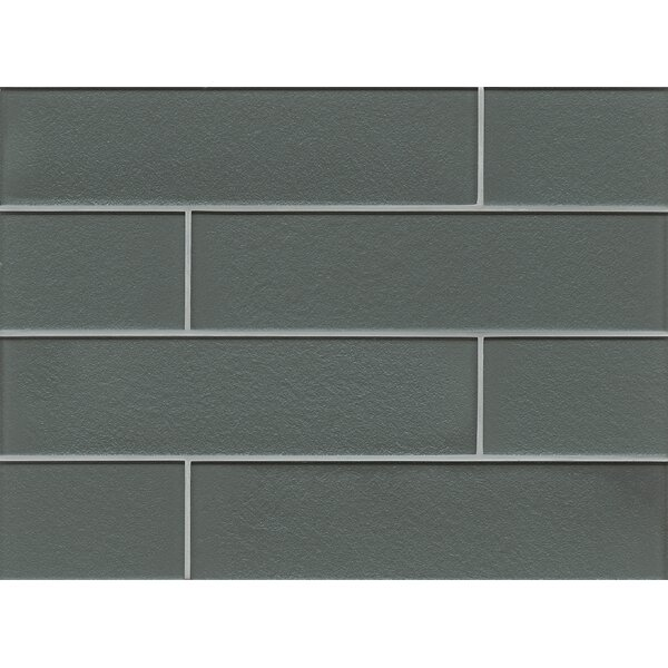 Remy Glass Field Tile Gloss in Jet by Grayson Martin