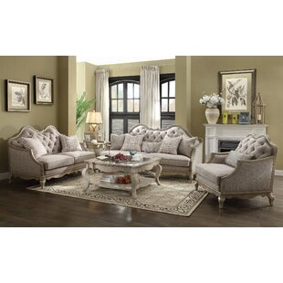 Adalgar 3 Pieces Living Room Set by One Allium Way®