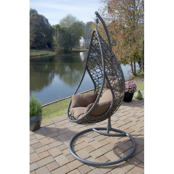 San Marino Hanging Egg Swing Chair with Stand by Brayden Studio
