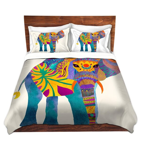 Whimsical Elephant I Duvet Cover Set