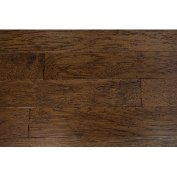 Monaco 5 Engineered Hickory Hardwood Flooring in Brown by Branton Flooring Collection