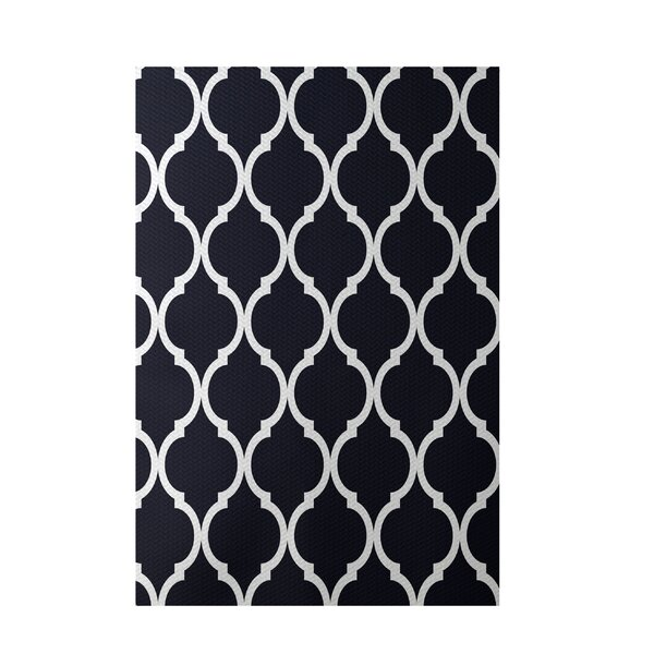 French Quarter Bewitching Navy Indoor/Outdoor Area Rug by e by design