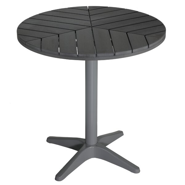 Patrece Round Metal Bistro Table by Orren Ellis