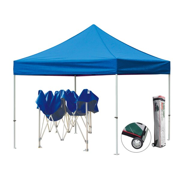 Commercial 10 Ft. W x 10 Ft. D Steel Pop-Up Canopy