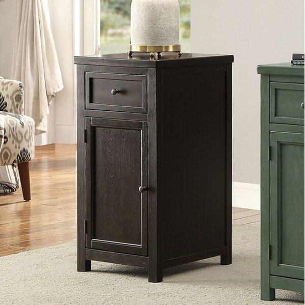 Morrow End Table with Storage by Canora Grey