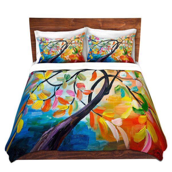 Color Tree IV Duvet Cover Set