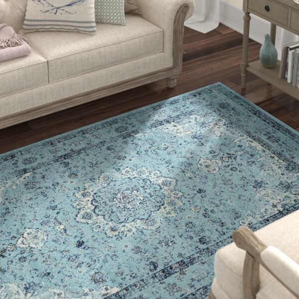 Centralia Light Blue Area Rug by Lark Manor