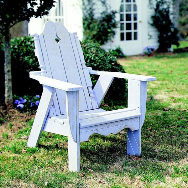 Nantucket Wood Adirondack Chair by Uwharrie Chair