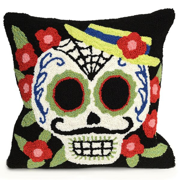 Mr. Muerto Indoor/Outdoor Throw Pillow by The Holiday Aisle