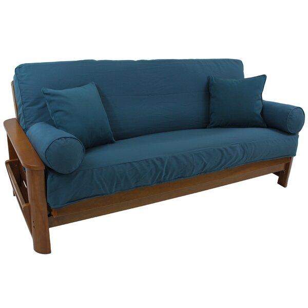 Box Cushion Futon Slipcover Set By Winston Porter