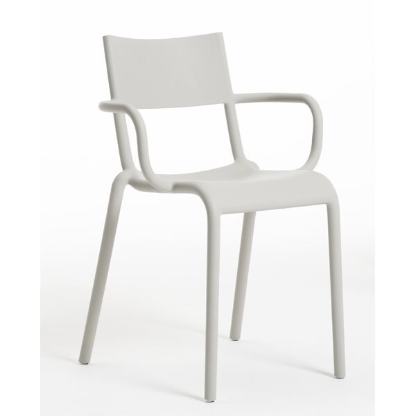 Generic A Stacking Patio Dining Chair (Set of 2) by Kartell Kartell