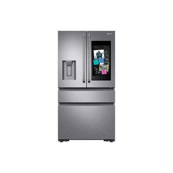 36 Counter Depth French Door Energy Star 22.2 cu. ft. Smart Refrigerator