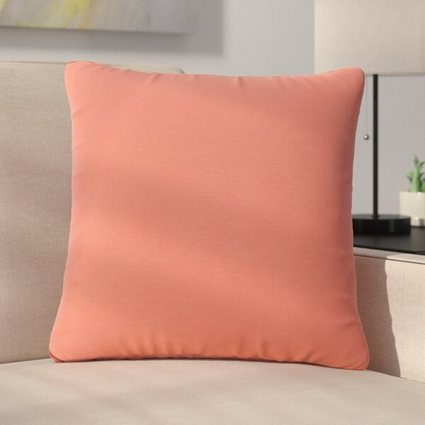 Ettinger Water Resistant Square Outdoor Throw Pillow (Set of 2) by Greyleigh