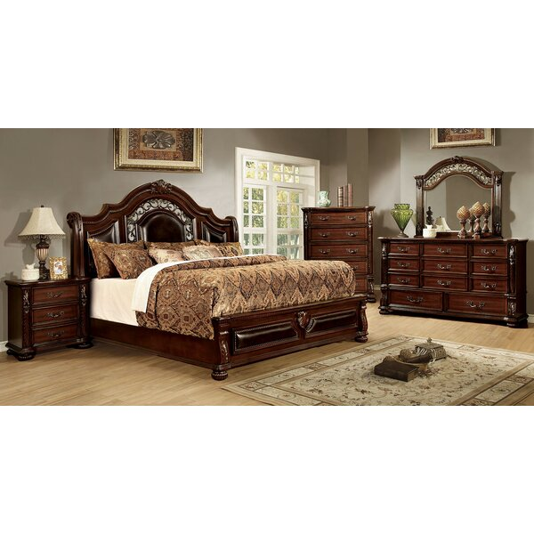 Claudia Sleigh Configurable Bedroom Set by Astoria Grand