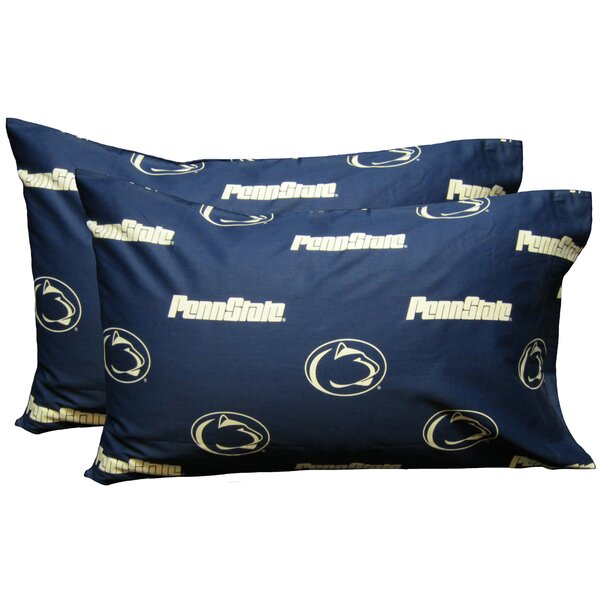 NCAA Penn State Nittany Lions Pillowcase (Set of 2) by College Covers