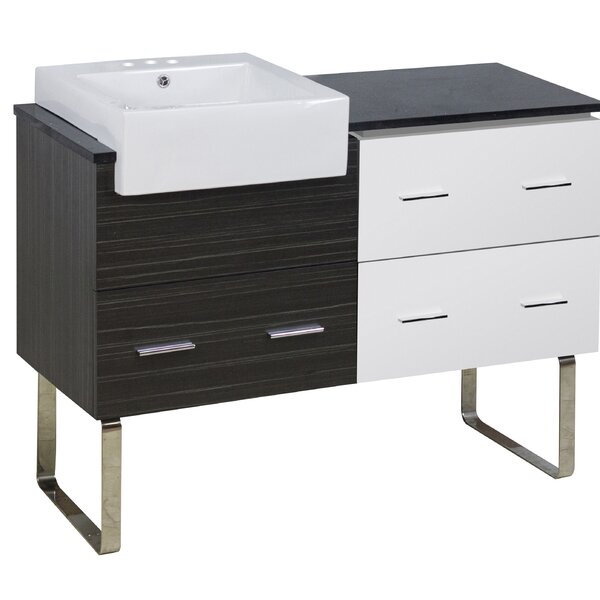 Battey 49 Single Bathroom Vanity Set by Orren Ellis